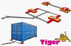 Containertransportfahrwerke