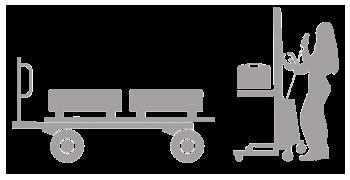 Transportgeräte - Hub- und Hebegeräte